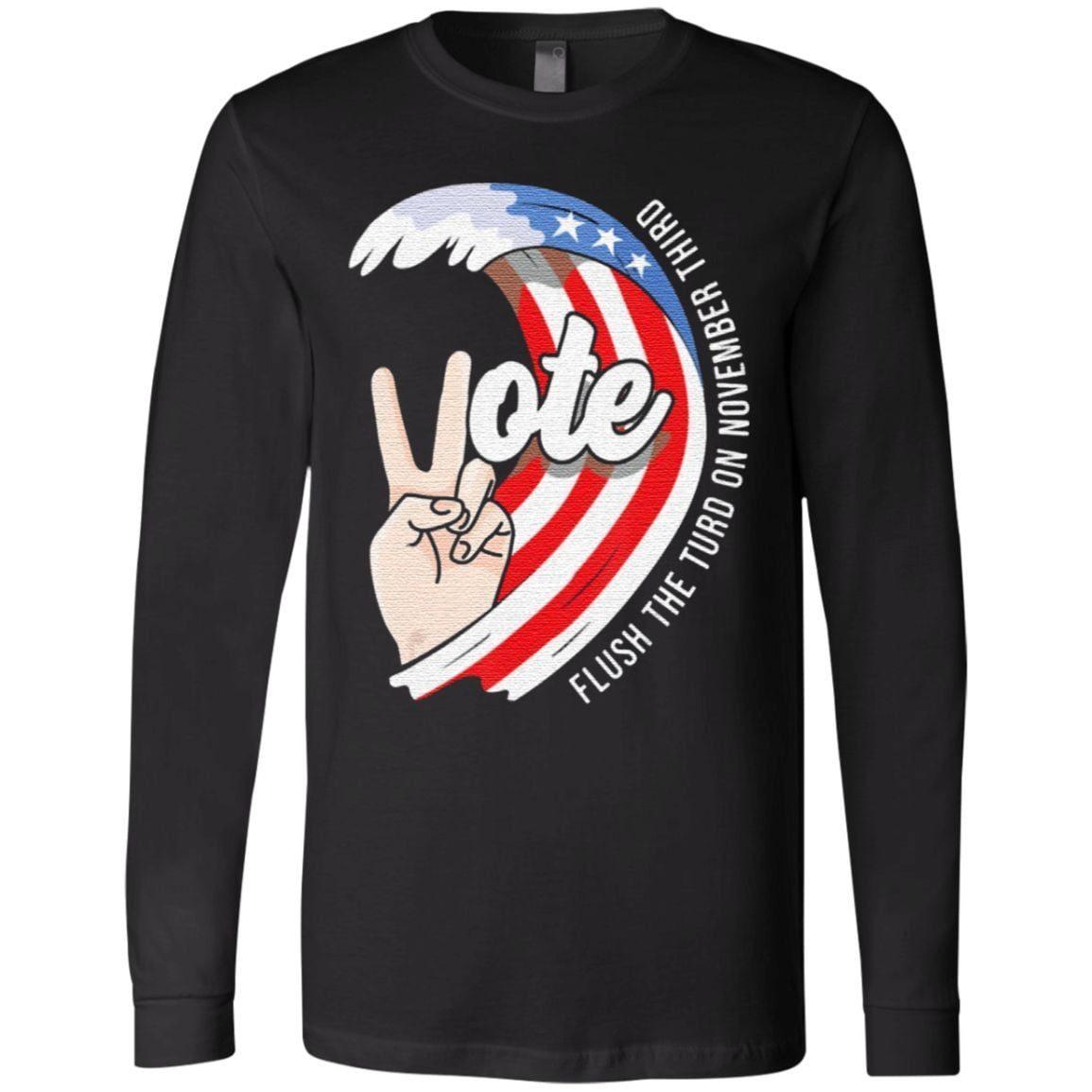 Flush The Turd On November Third Vote US TShirt