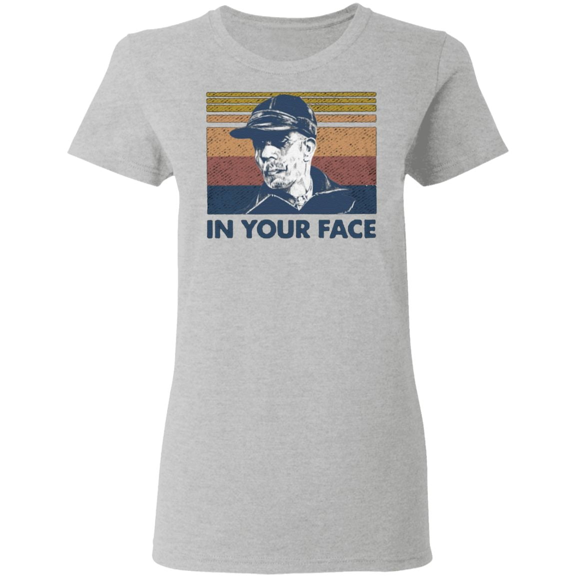 Ed Gein In Your Face T Shirt