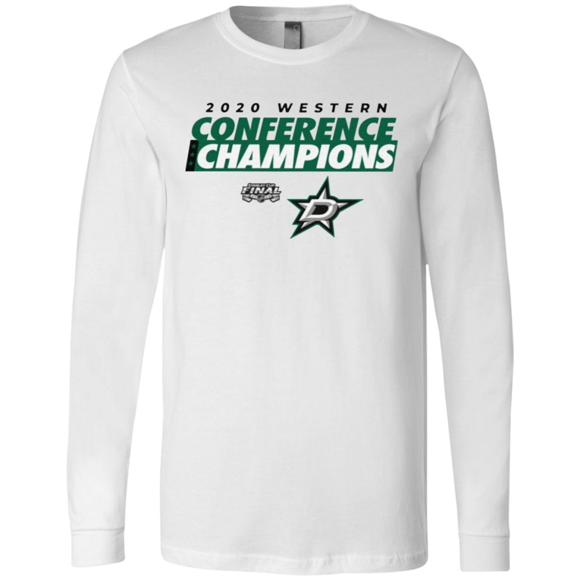 2020 Western Conference Champions Dallas Stars T Shirt