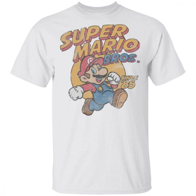 Super Mario Bros Since '85 Vintage t shirt