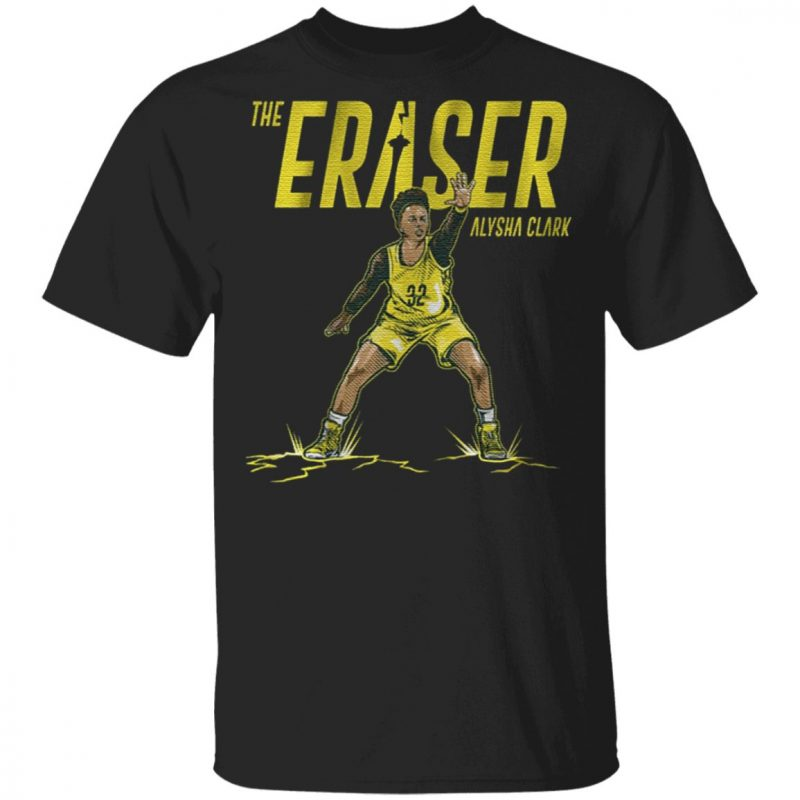 the eraser Alysha Clark t shirt