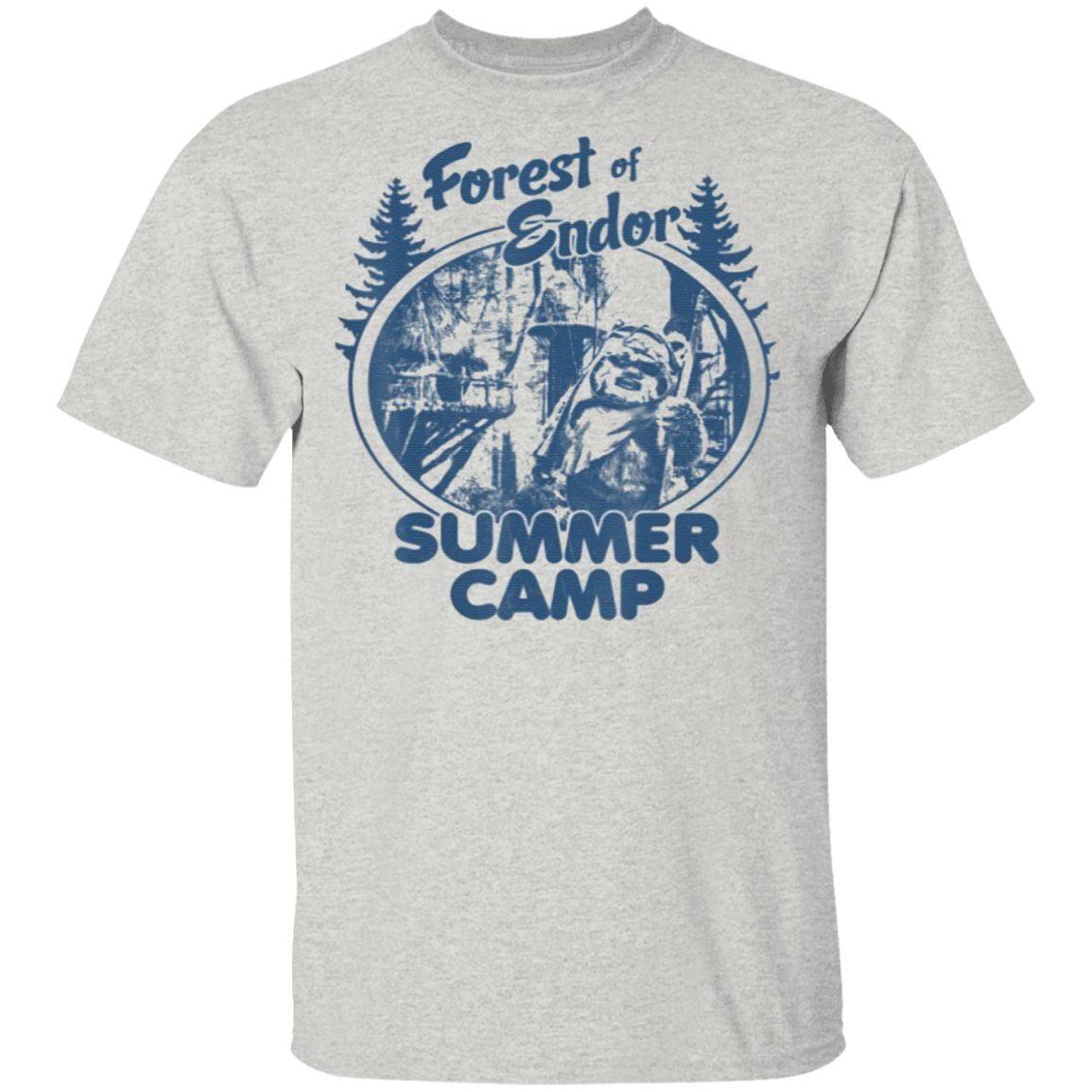 Star Wars Wicket Ewoks Endor Forest Summer Camp T Shirt