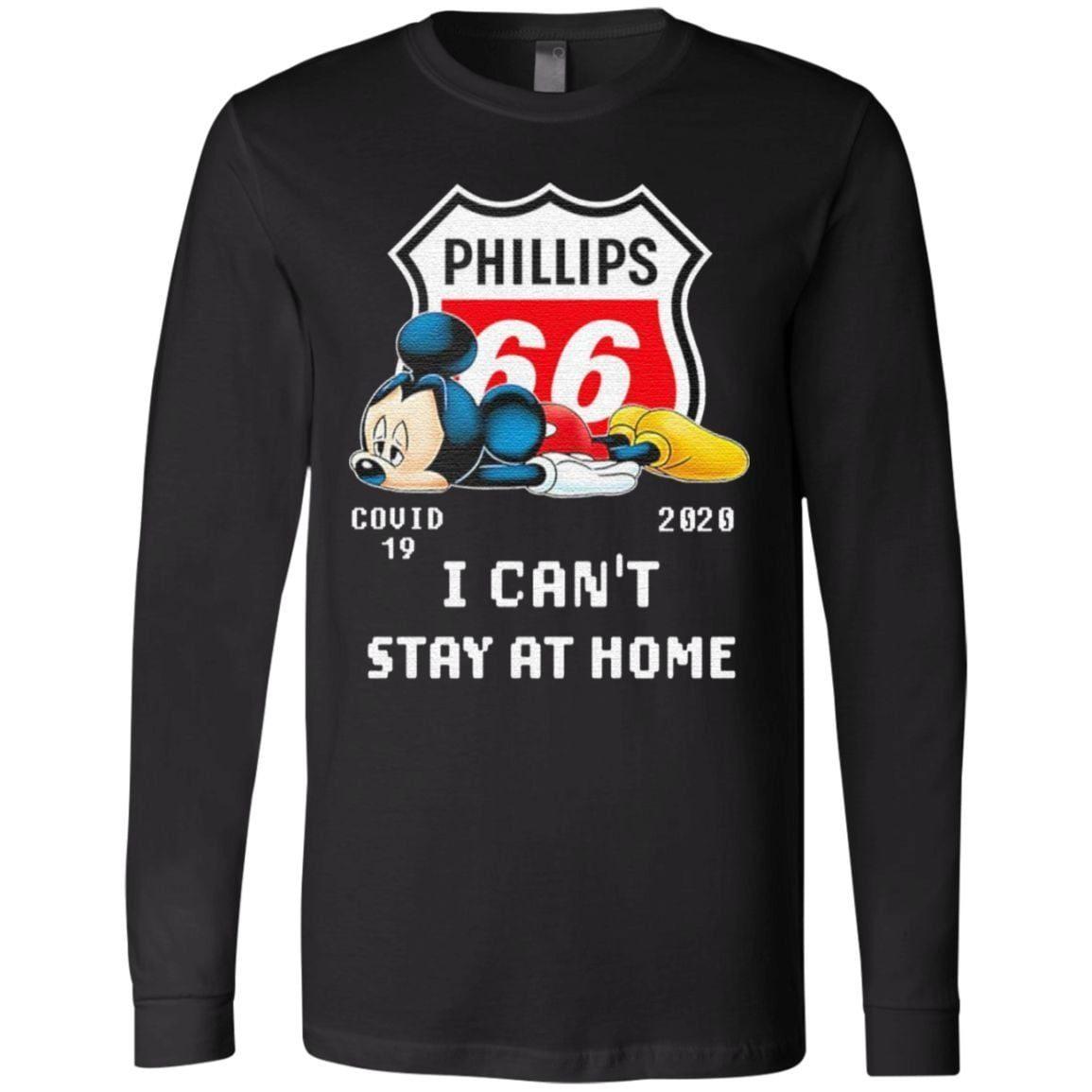 Mickey mouse sad Phillips 66 covid 19 2020 T Shirt