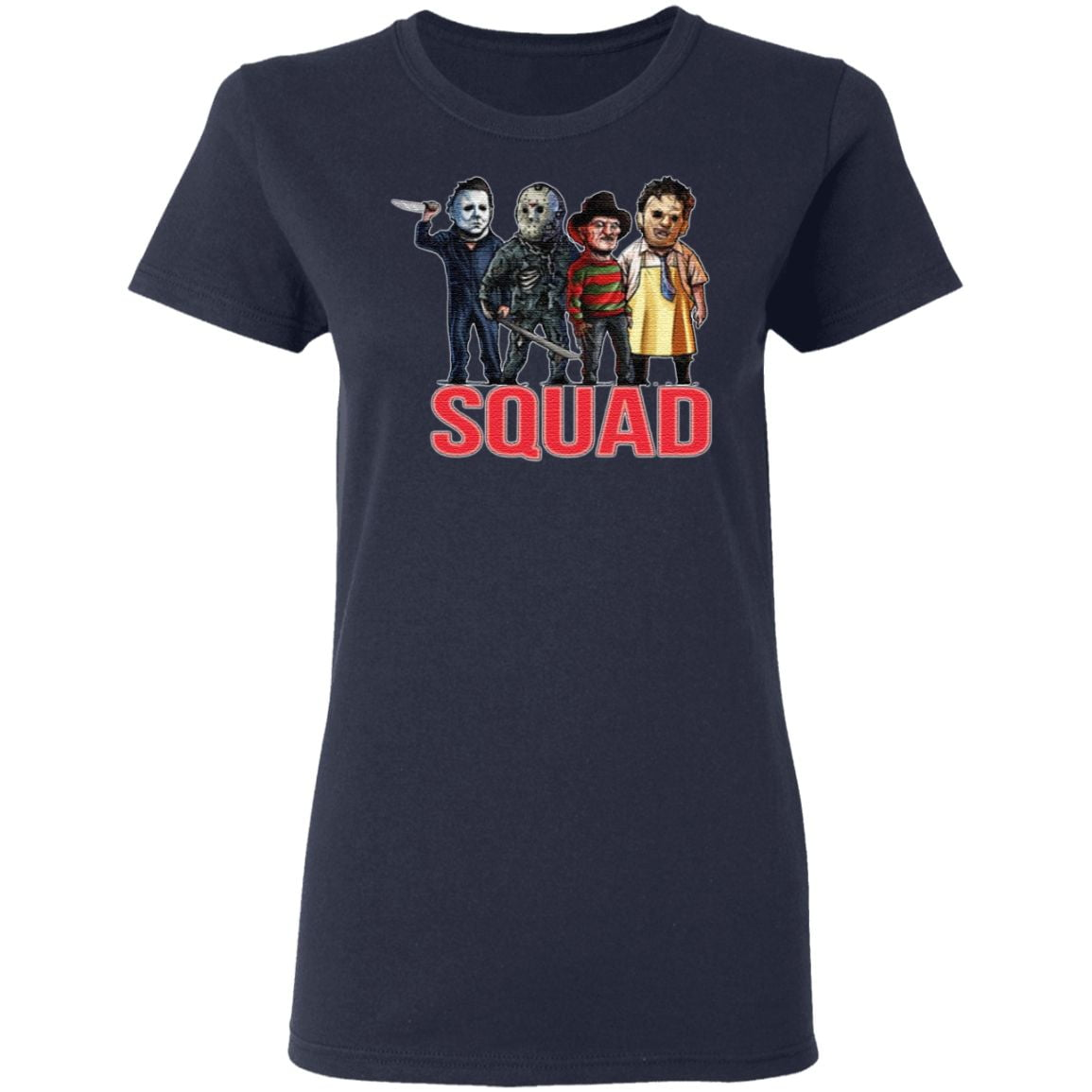 Horror Squad Goals Halloween T-Shirt