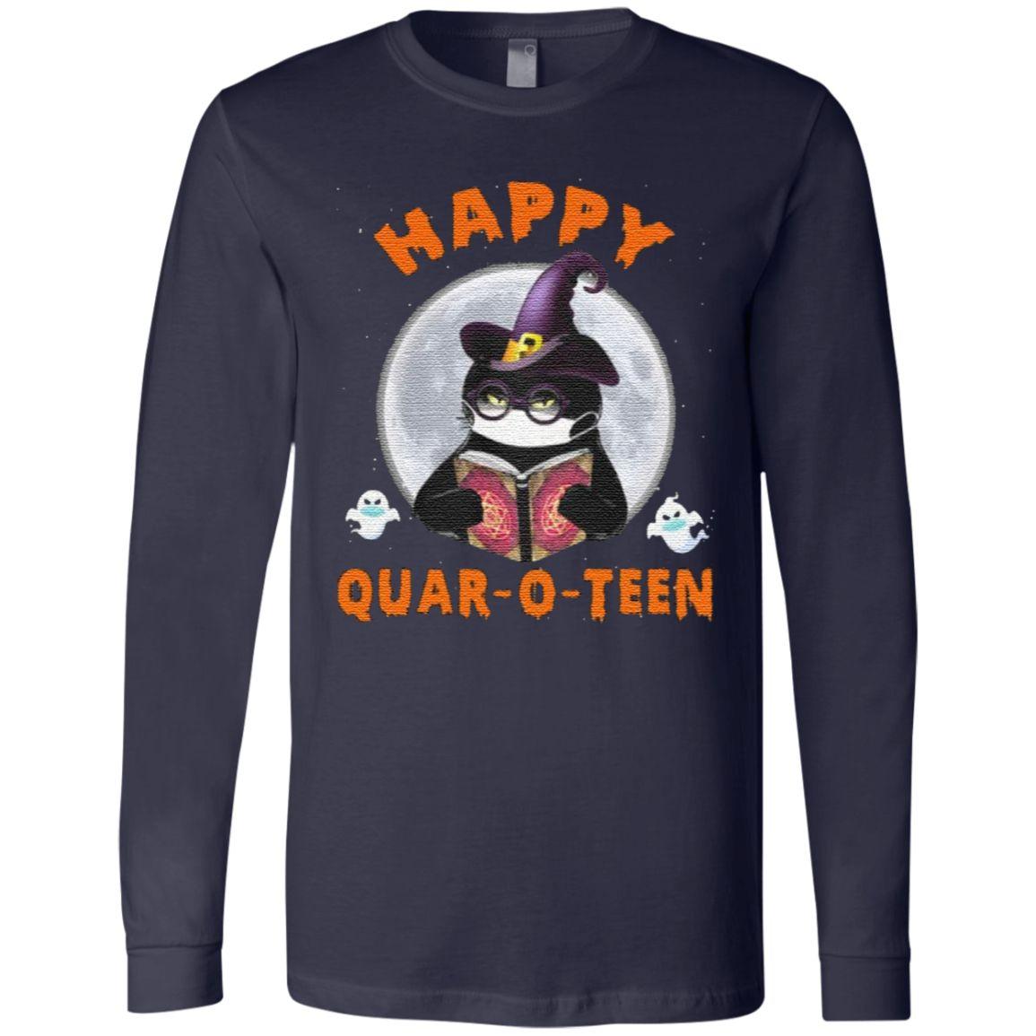 Happy Quar-O-Teen Halloween Witch T-Shirt