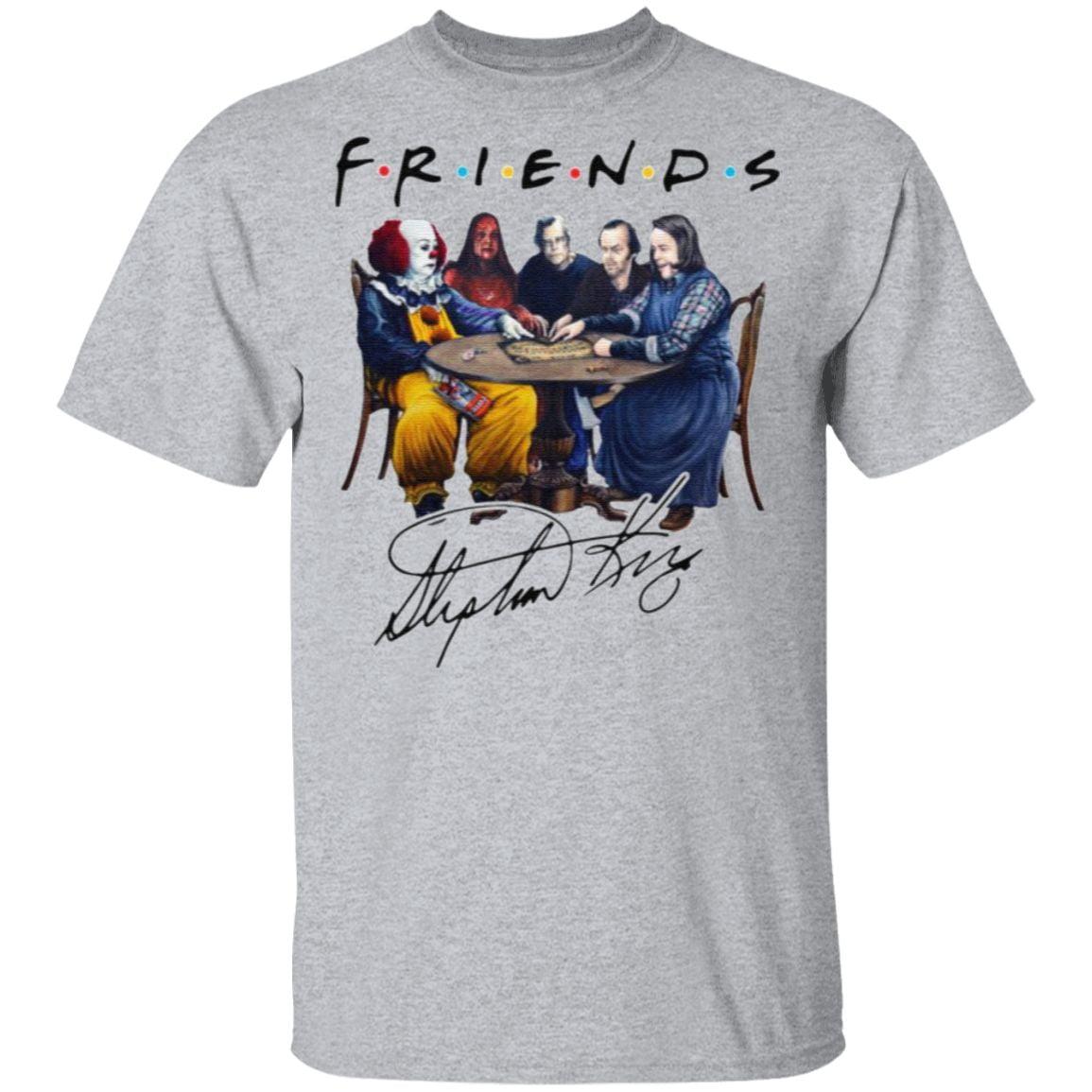 Stephen King Is Still Underrated Friends Signature Halloween T-Shirt