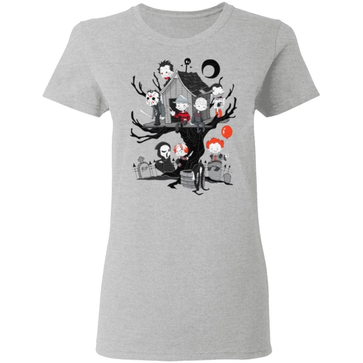 Horror Friends Halloween T-Shirt