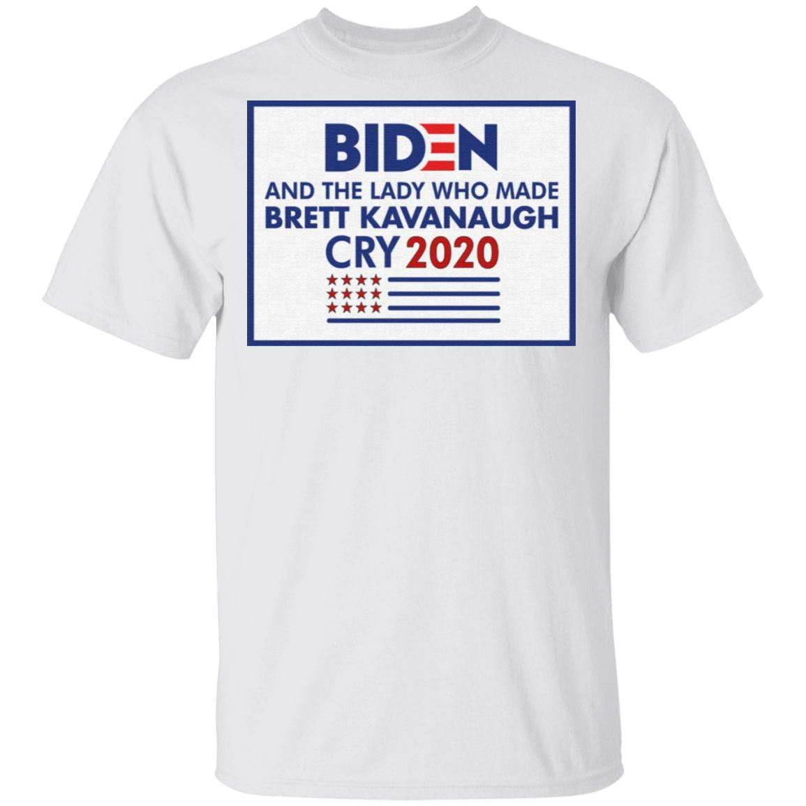 Biden And The Lady Who Made Brett Kavanaugh Cry 2020 T Shirt