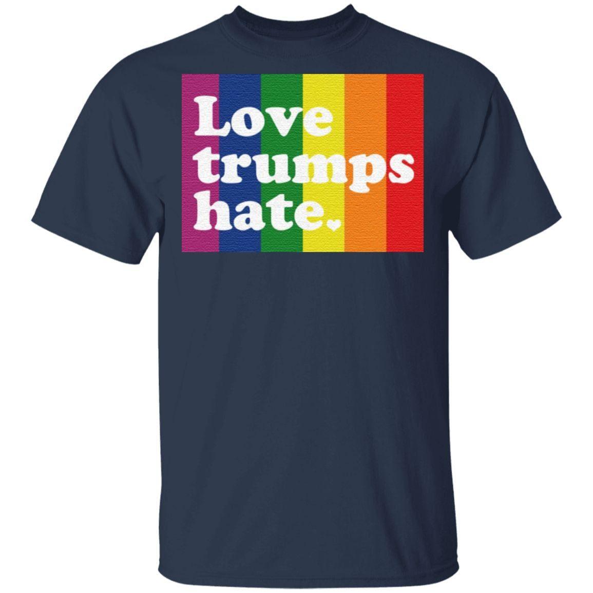 Love Trumps Hate t shirt