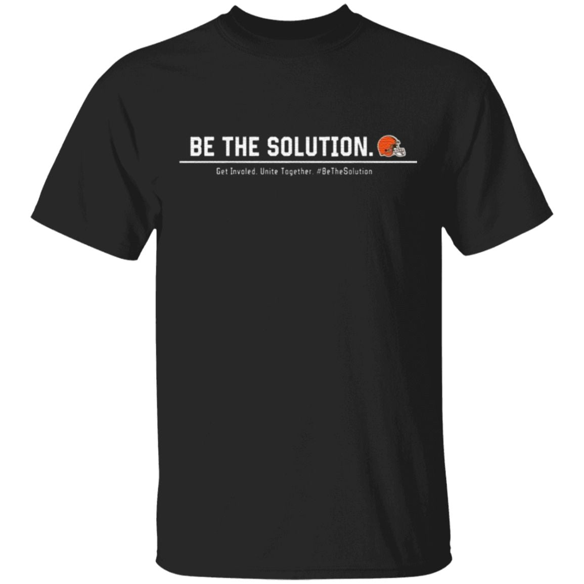 Odell Beckham Be The Solution Get Involved Unite Together T Shirt
