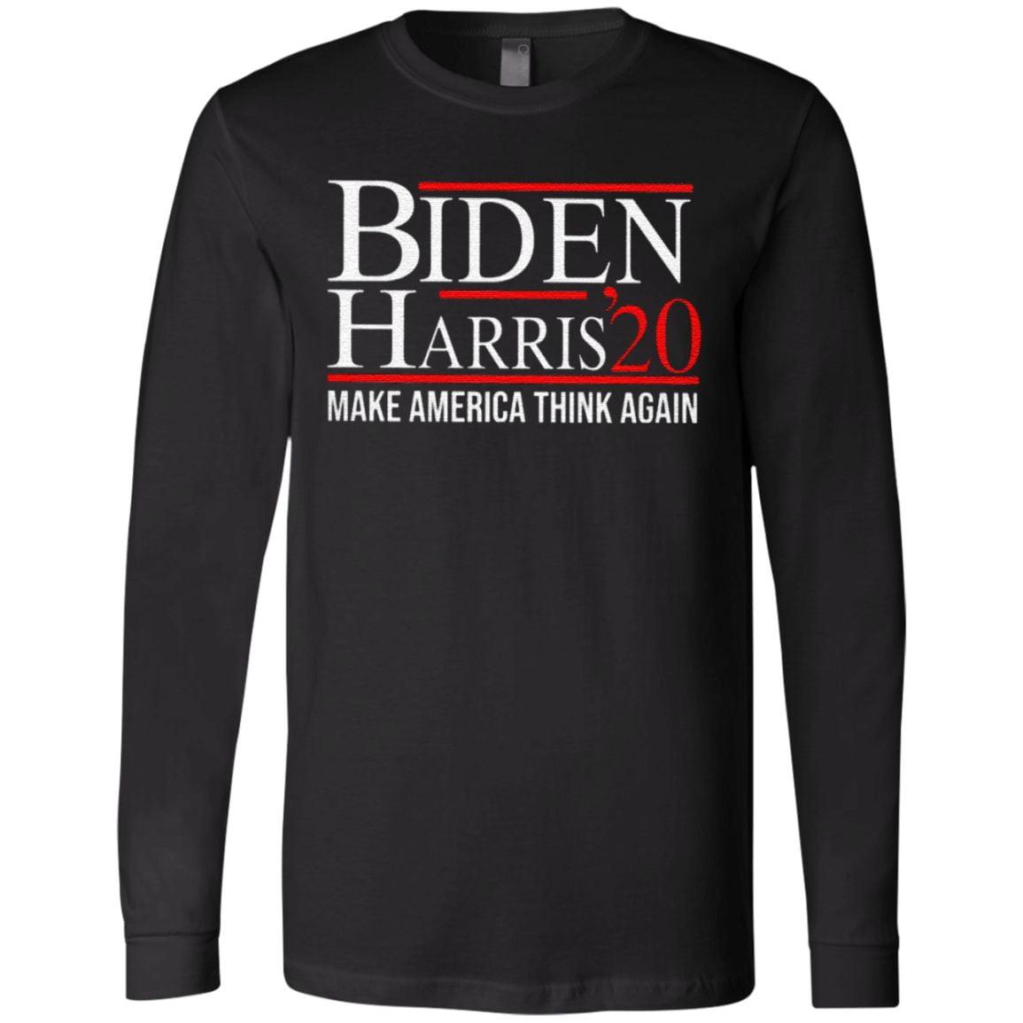 Biden Harris 2020 Make America Think Again T Shirt