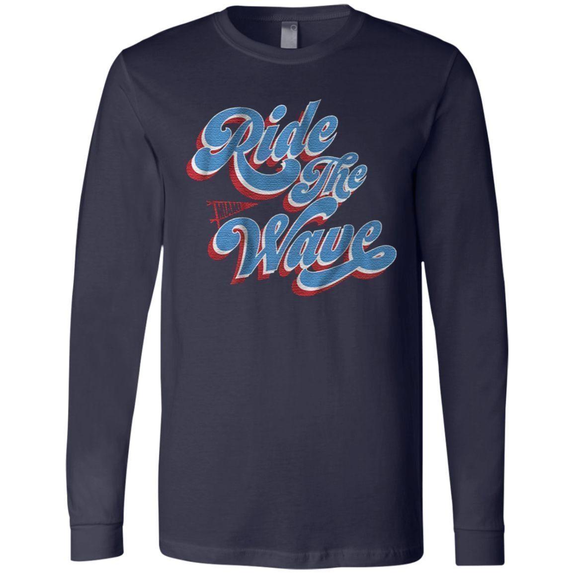 ride the wave Miami baseball t shirt