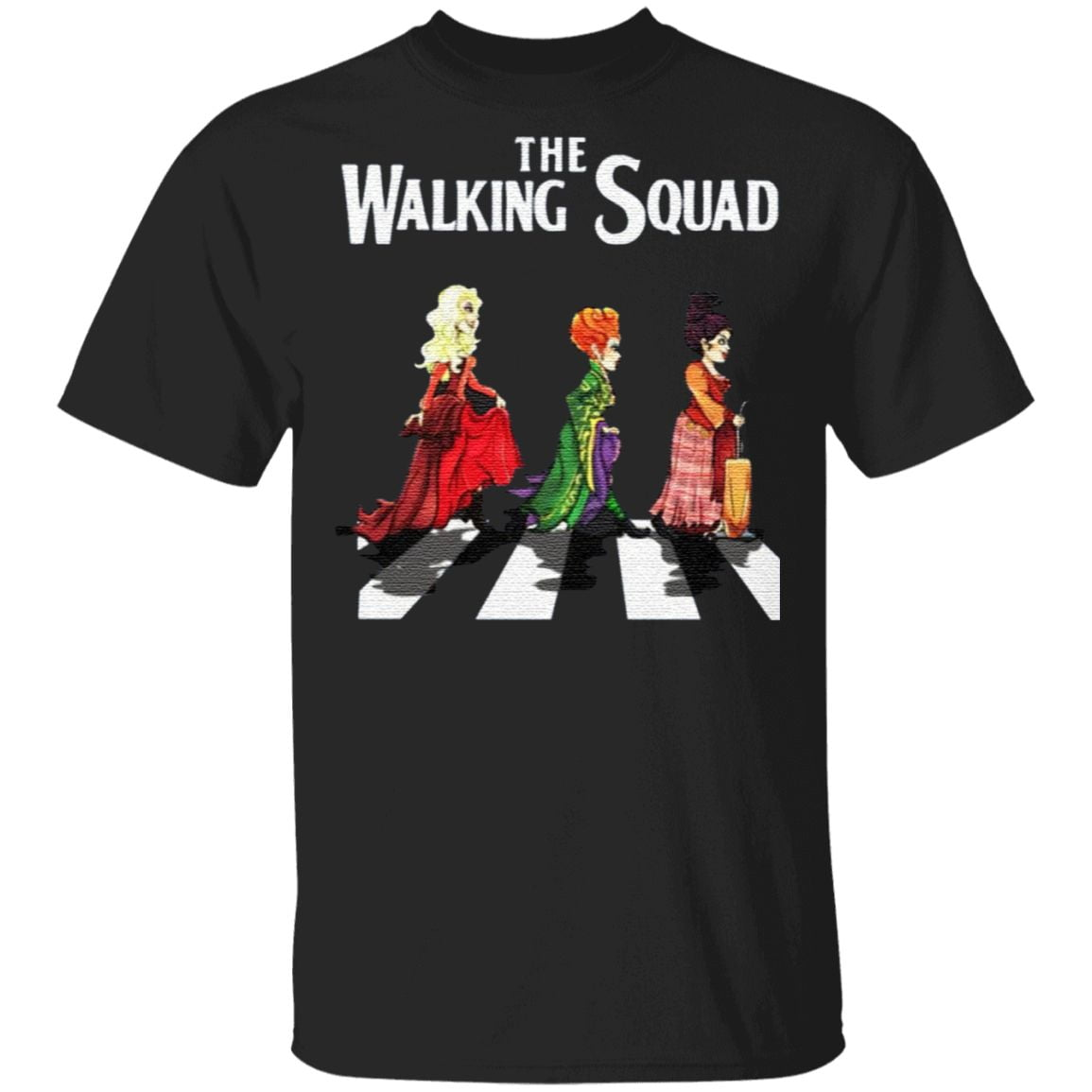 The Walking Squad The Abbey Road T Shirt