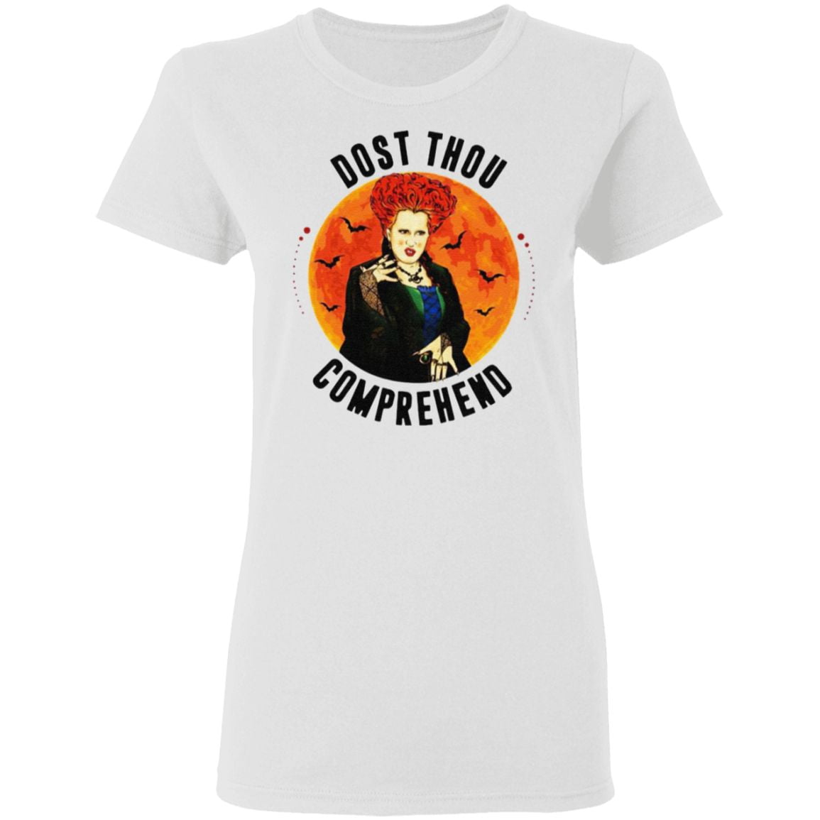 Dost Thou Comprehend Moon Halloween T-Shirt