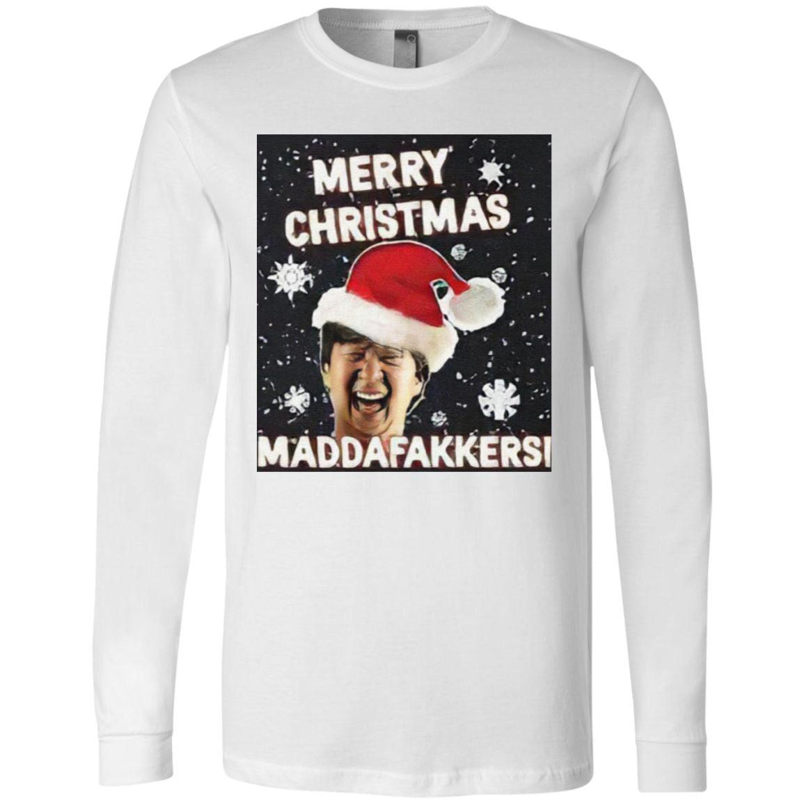 Mr Chow Hangover Merry Christmas Maddafakkers T Shirt