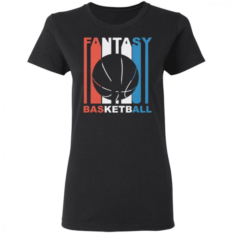 Red White And Blue Fantasy Basketball Shirt