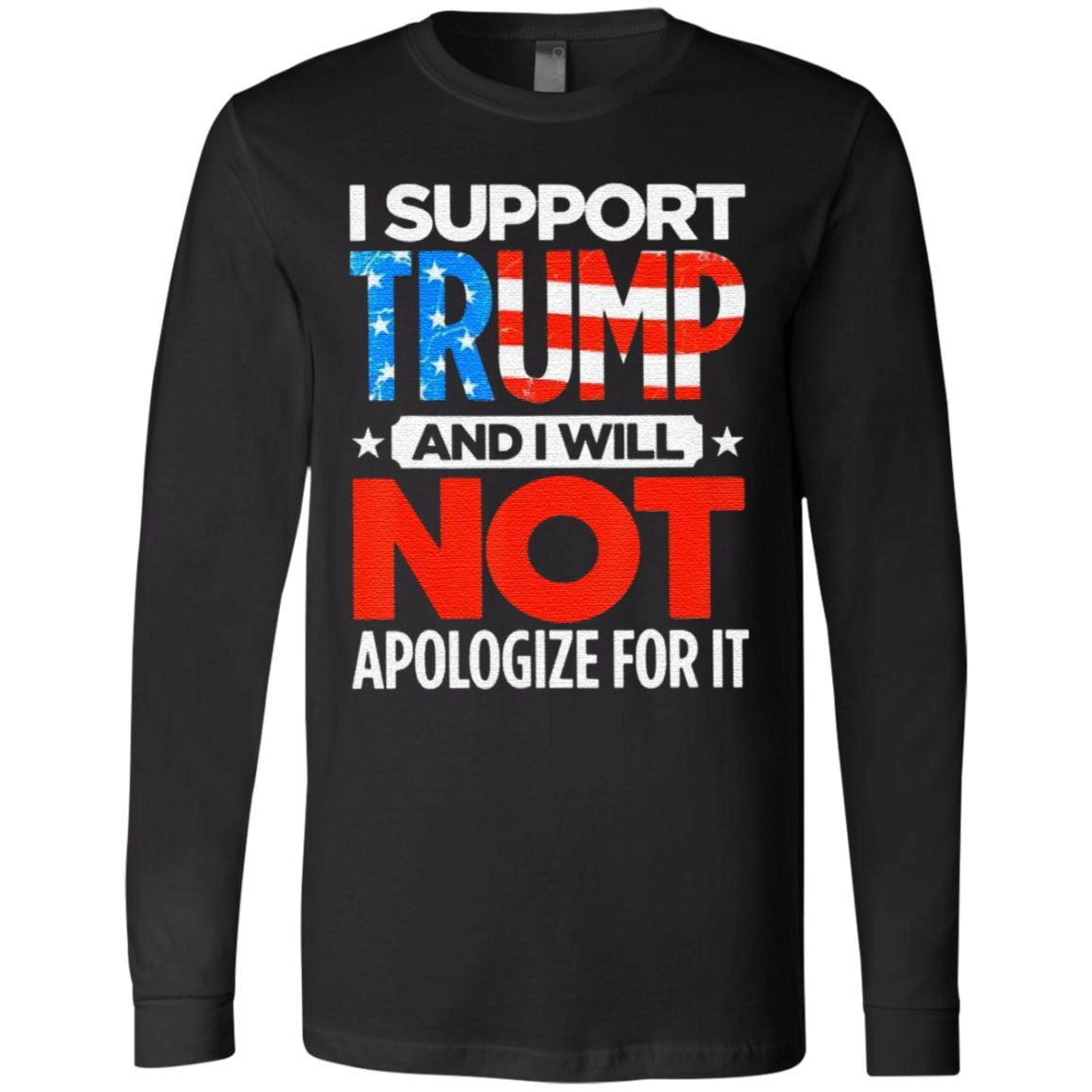 I Support Trump not Apologize for It T Shirt
