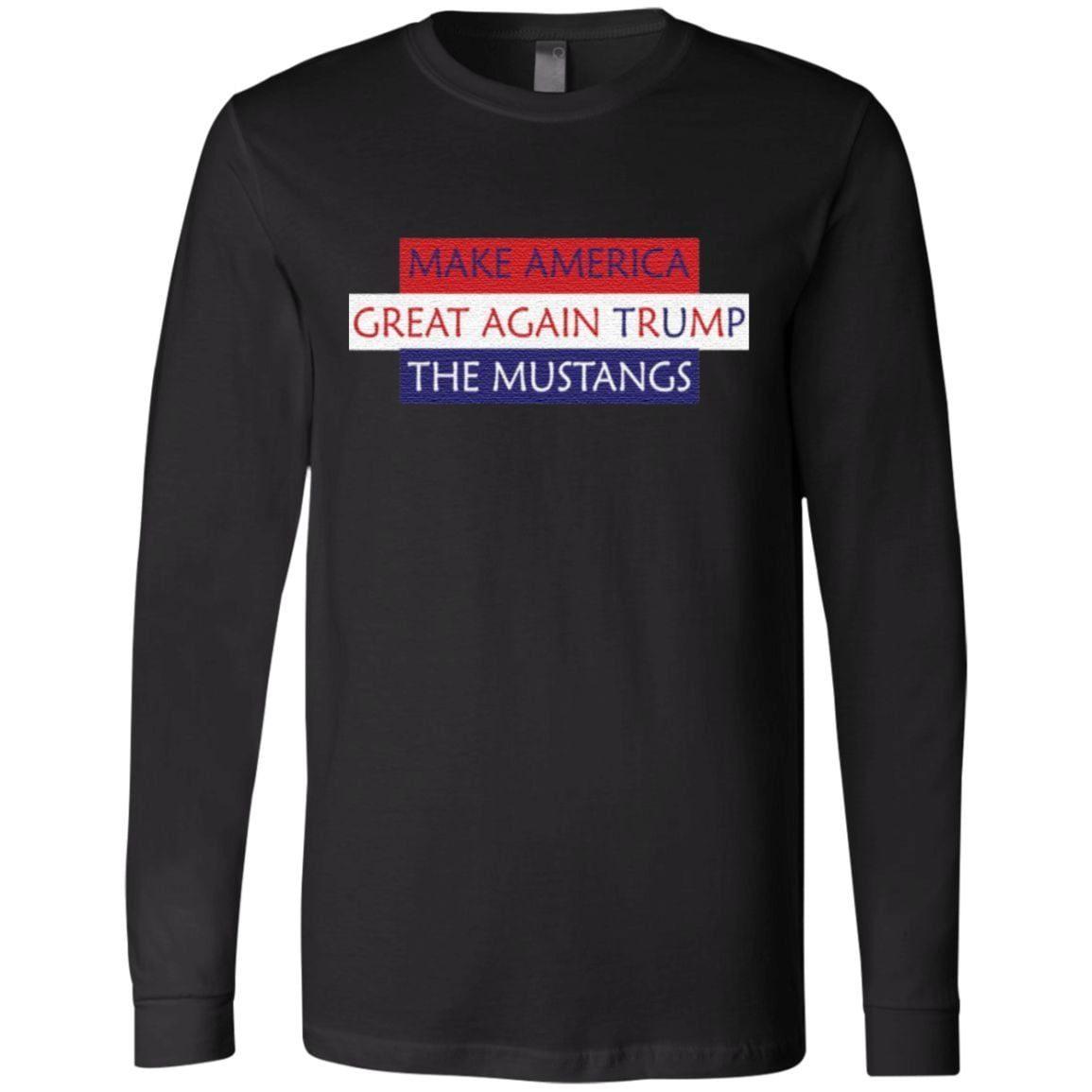 Make America Great Again Trump The Mustangs t shirt