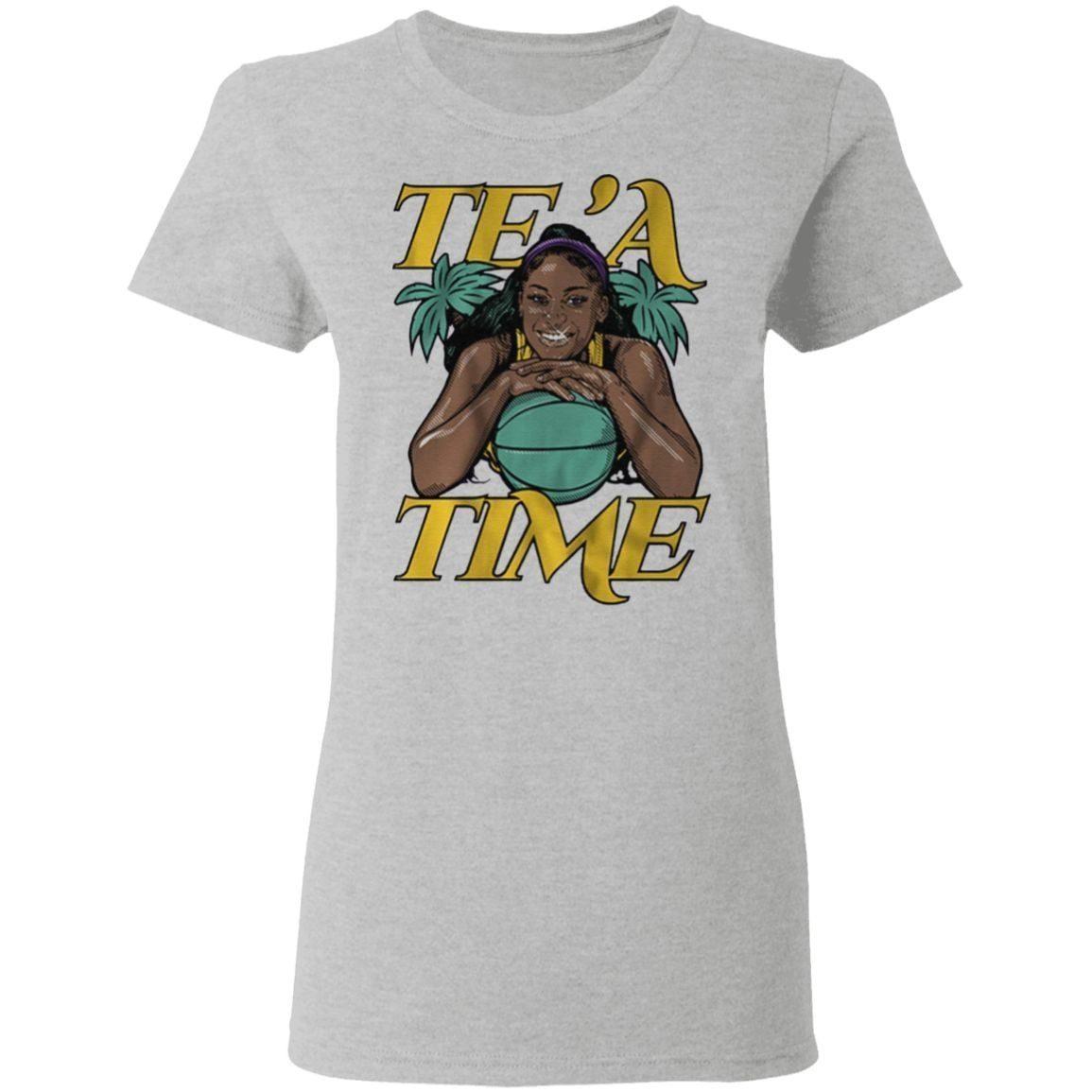 tea cooper tea time t shirt