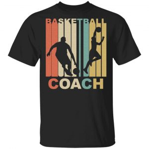 Vintage Basketball Coach Graphic Shirt