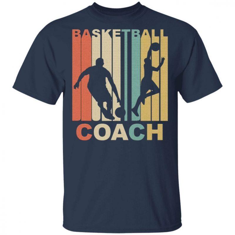 Vintage Basketball Coach Graphic Shirt