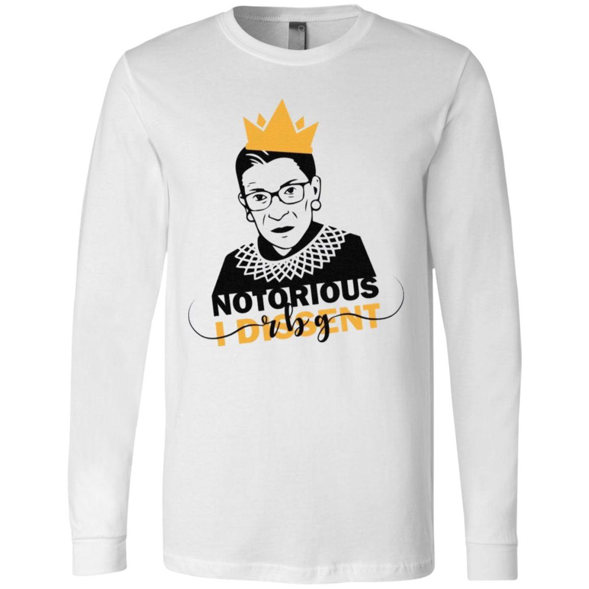 notorious rbg shirt i dissent t shirt