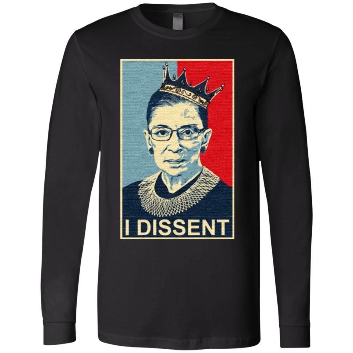 Ruth Bader Ginsburg I Dissent T Shirt