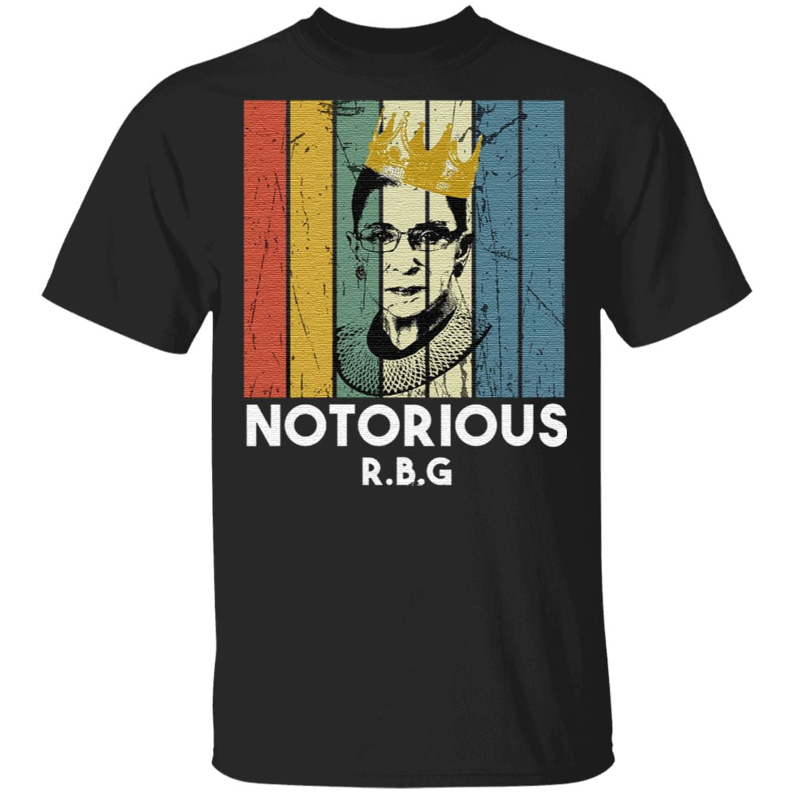 Notorious rbg shirt speak your mind even if your voice shakes t shirt