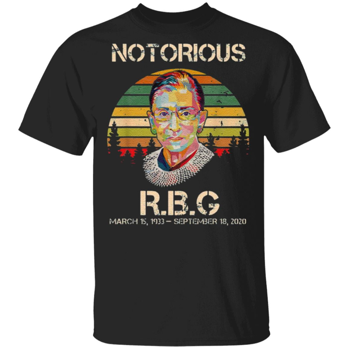 Notorious RBG Ruth Bader Ginsburg T-Shirt