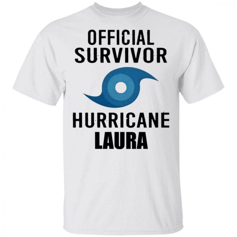 Hurricane Laura Official Shirt