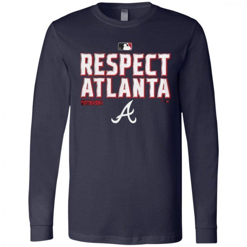 respect Atlanta Braves t shirt