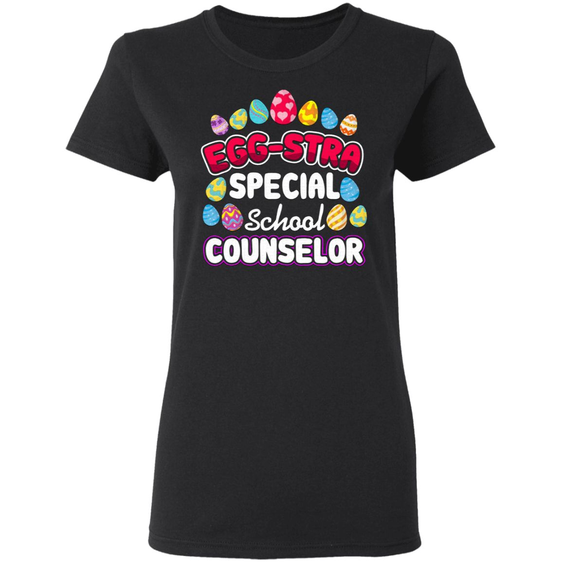 Easter Eggstra Special School Counselor Gift T-Shirt