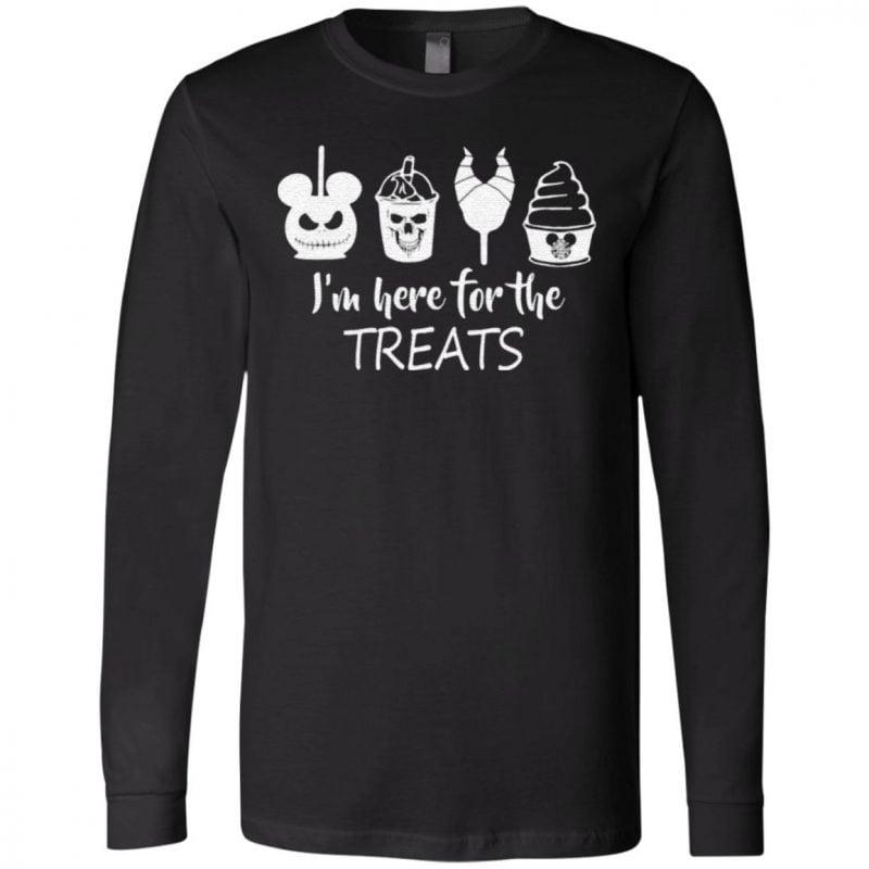 Disney Halloween Im Here For The Treats T-Shirt