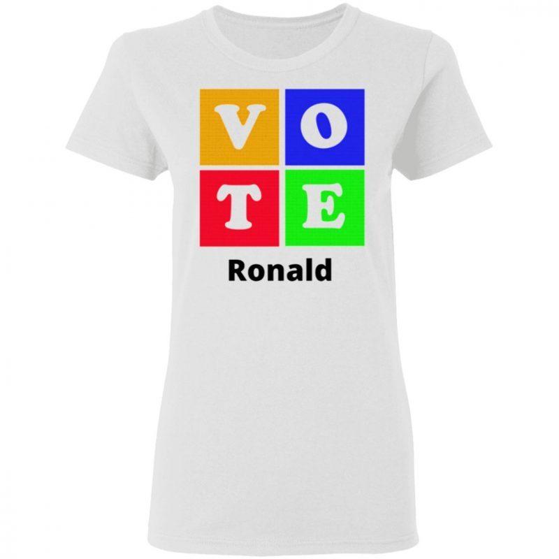 Vote Ronald T-Shirt