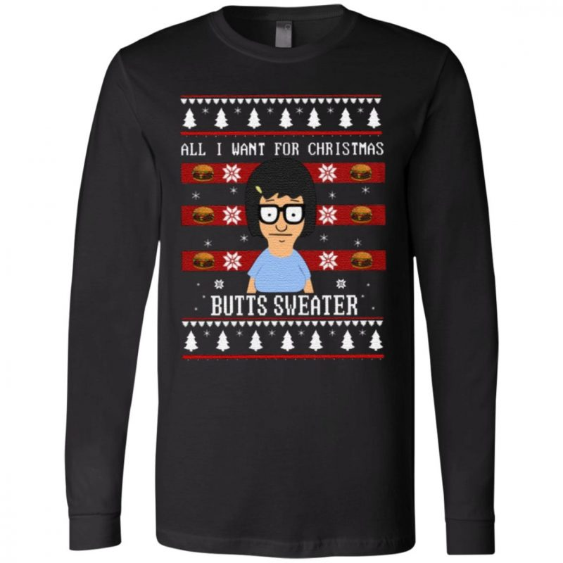 All I Want For Xmas Is Butts T Shirt