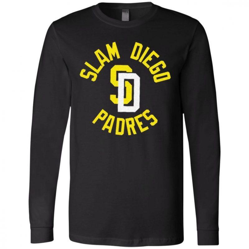 Slam Diego Padres t shirt