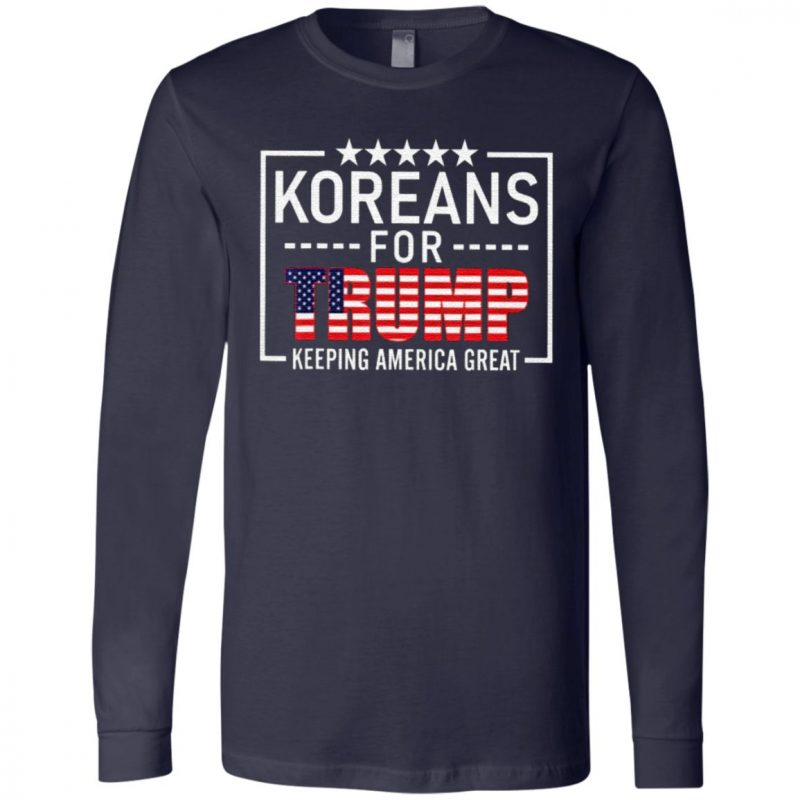 Koreans For Trump Keeping America Great T Shirt