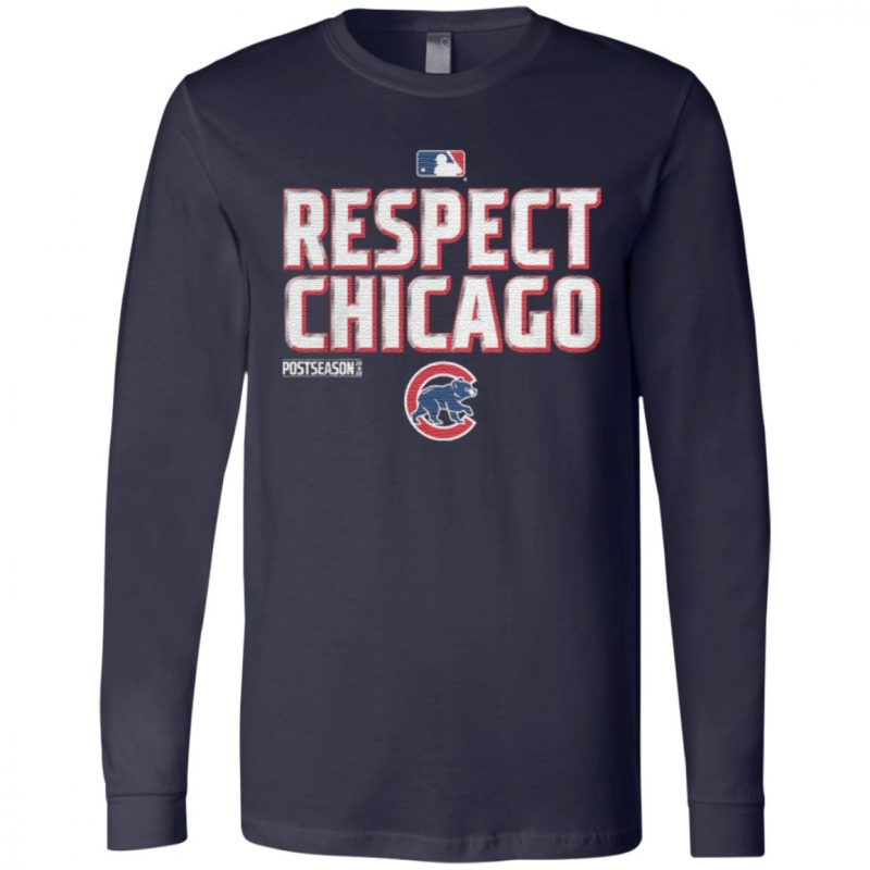 Respect Chicago Cubs TShirt