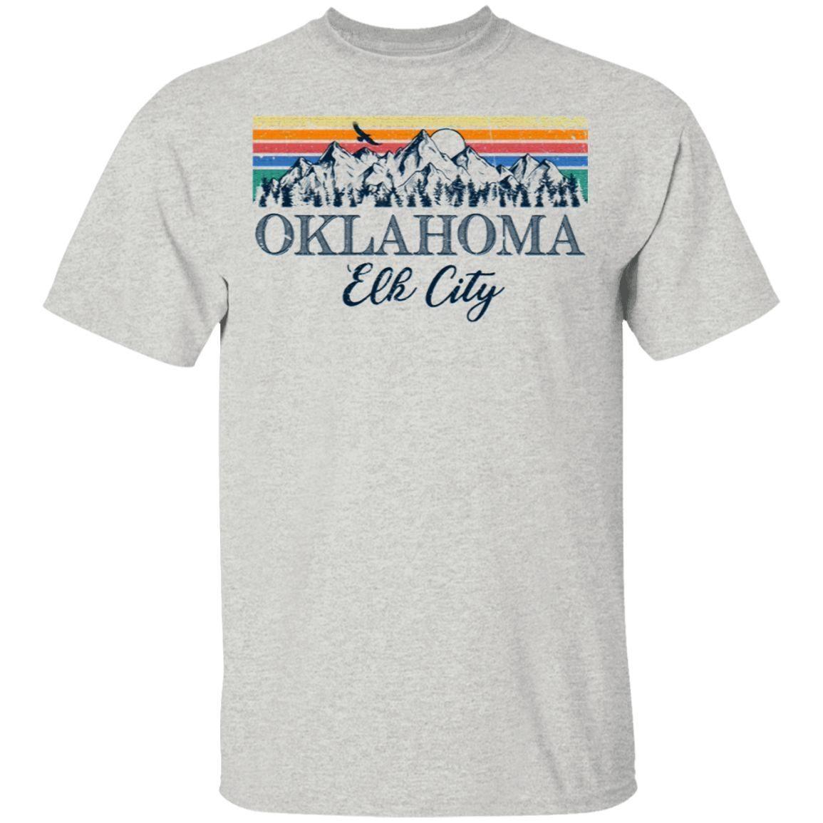 Elk City Oklahoma Retro Vintage Aesthetic T-Shirt