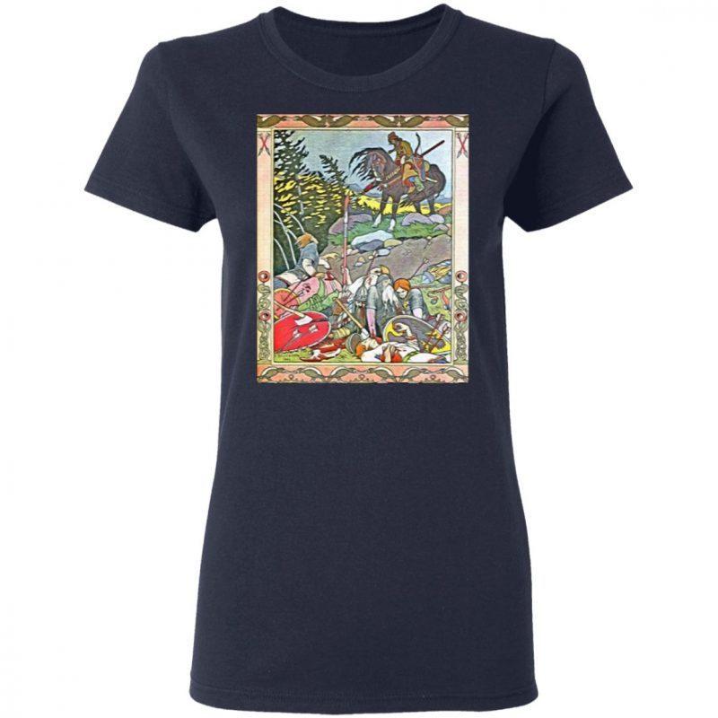 Fantasy Poster 4 Art Nouveau T-Shirt