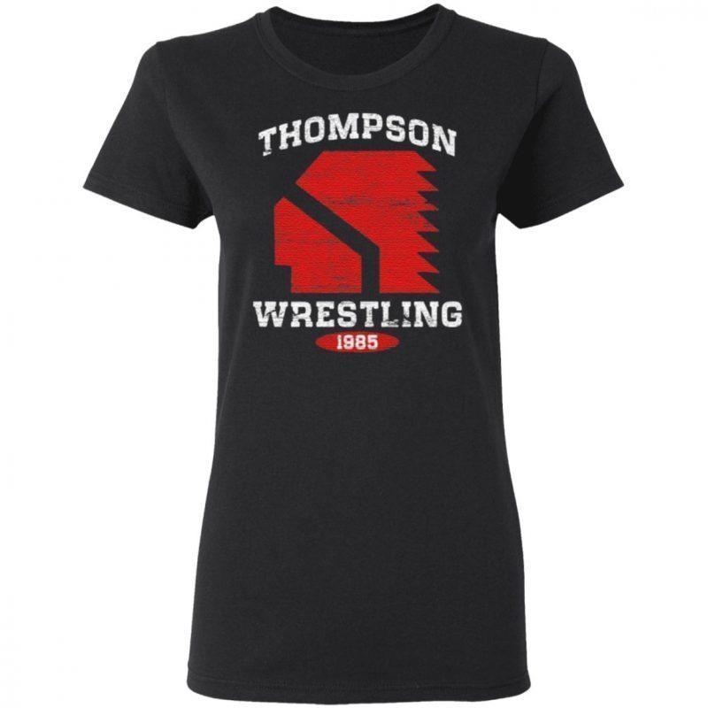 Thompson Wrestling 1985 T-Shirt