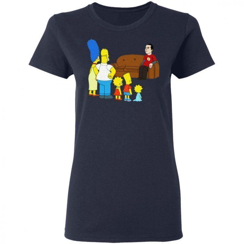 The Simpsons Sheldon Cooper T Shirt