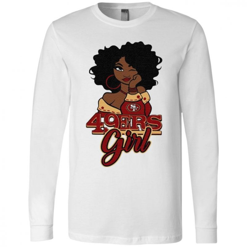 Black Girl San Francisco 49ers T Shirt