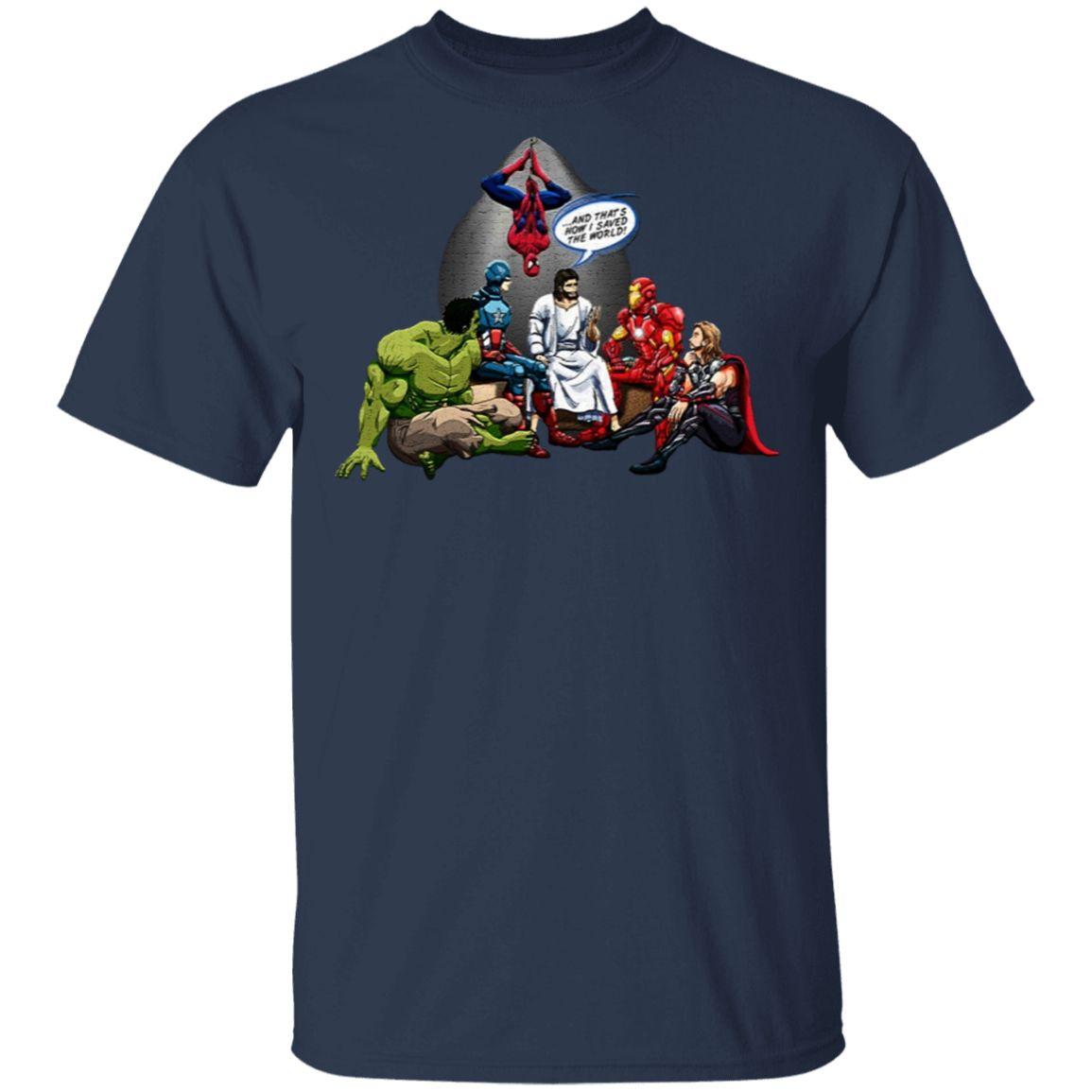 AND THAT HOW I SAVED THE WORLD T-Shirt