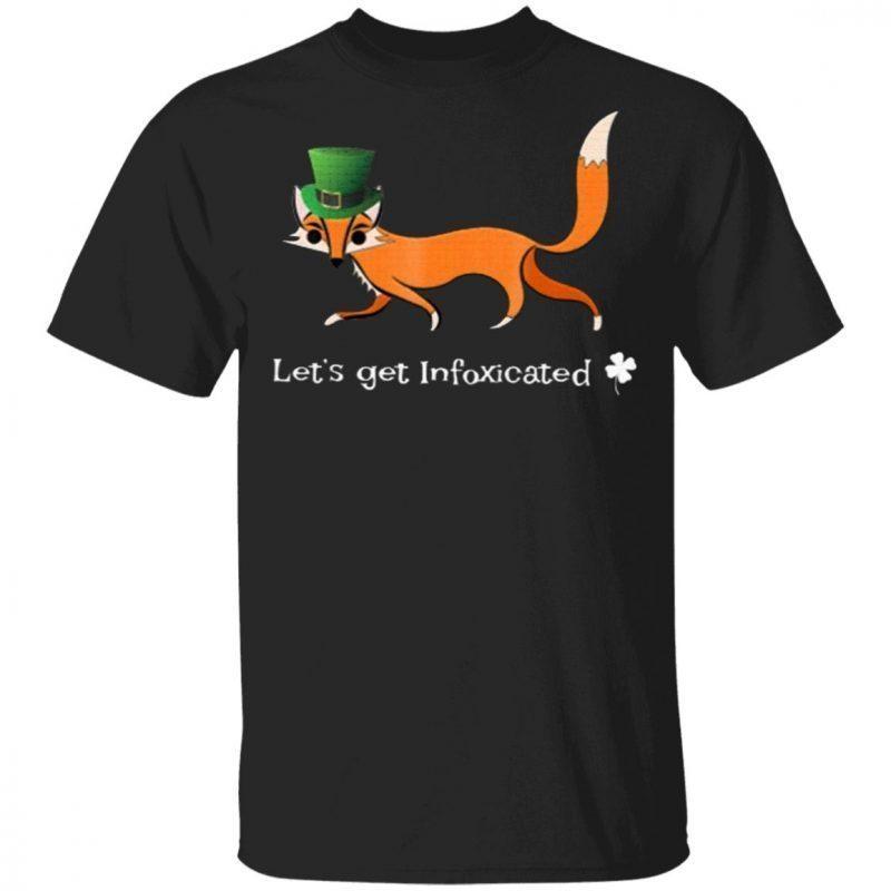 Funny St Patricks Day Drinking Fox Pun Shirt Infox Classic T-Shirt