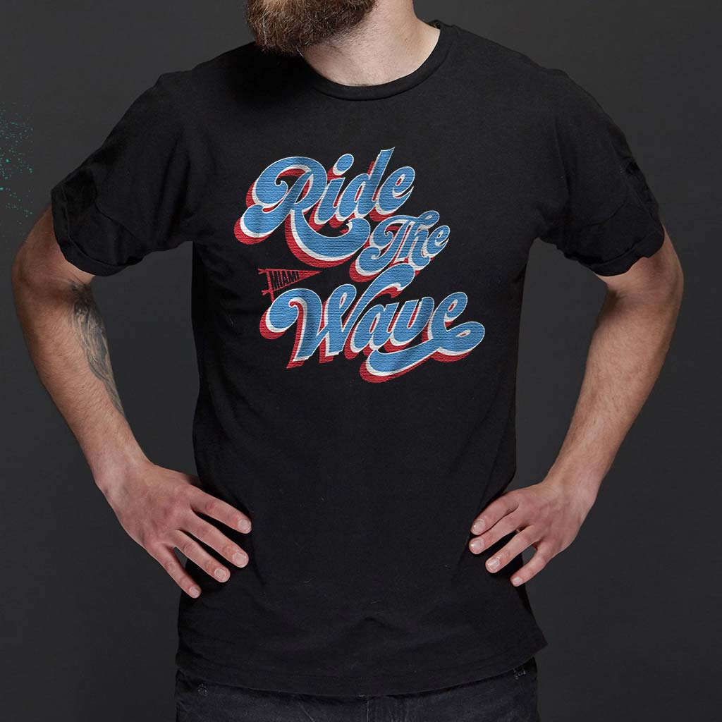 ride-the-wave-Miami-baseball-t-shirts