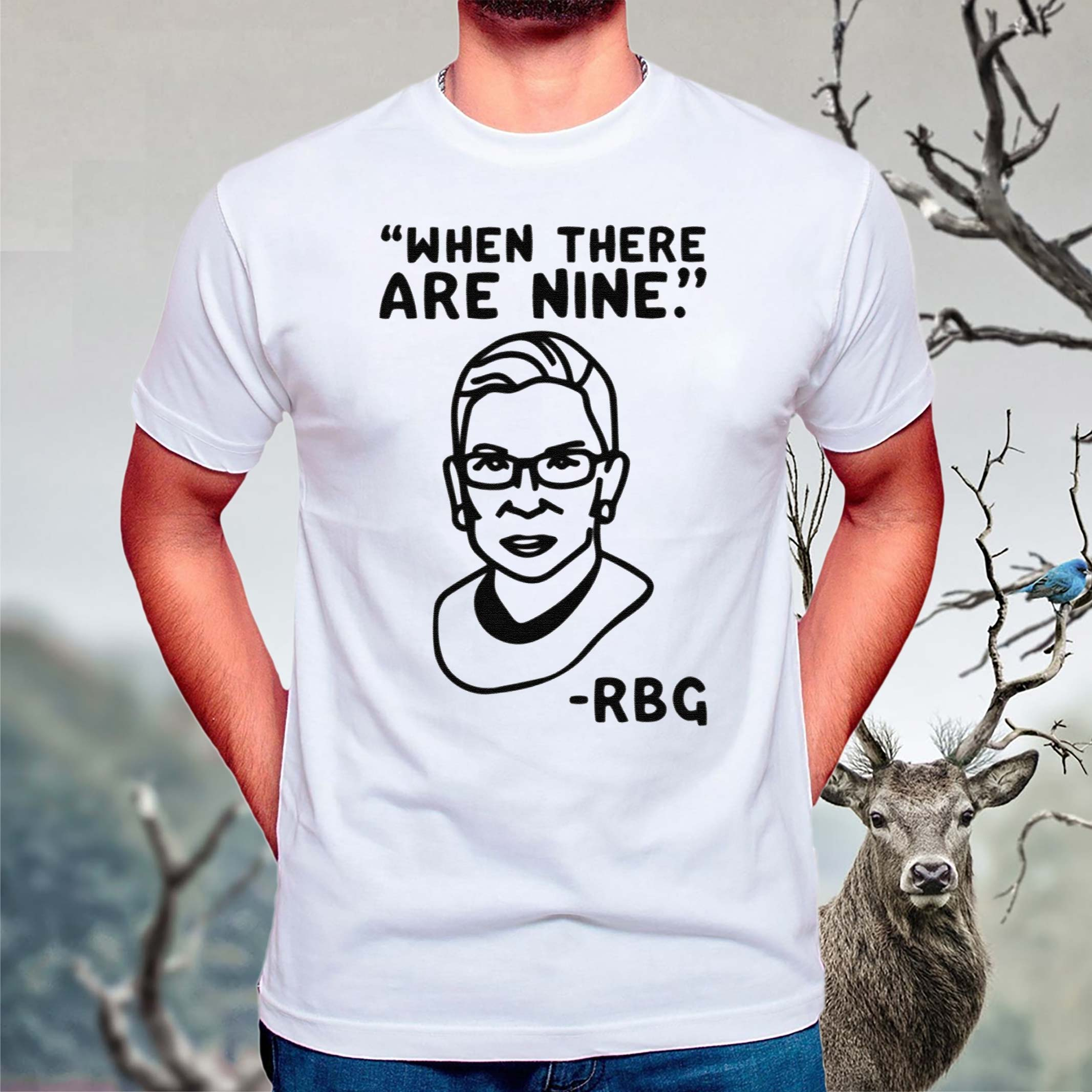 when-there-are-nine-rbg-t-shirt