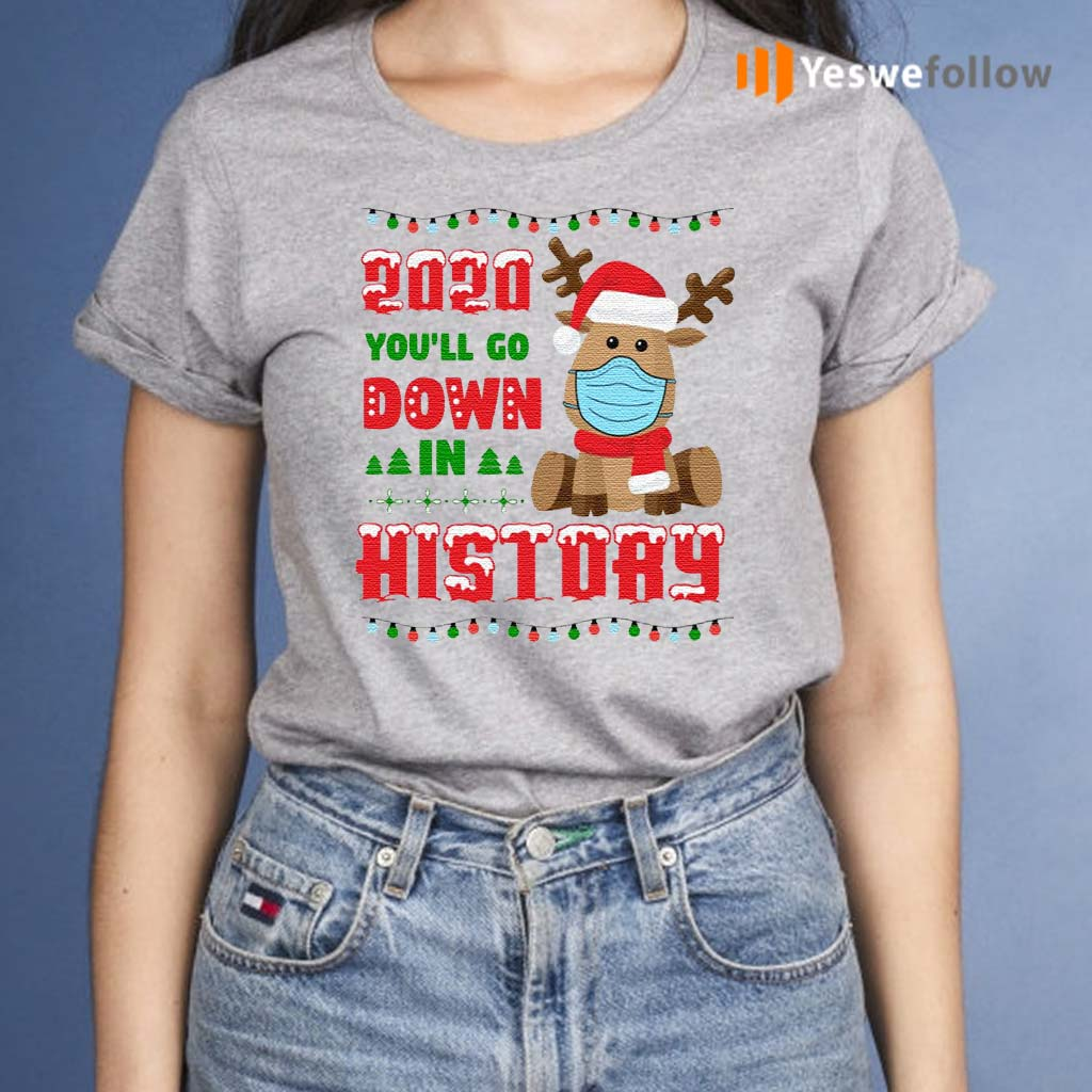 2020-You-Will-Do-Down-Funny-Reindeer-Wear-Mask-Quarantine-Christmas-T-Shirts