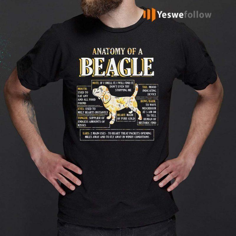 Anatomy-Of-A-Beagle-T-Shirt