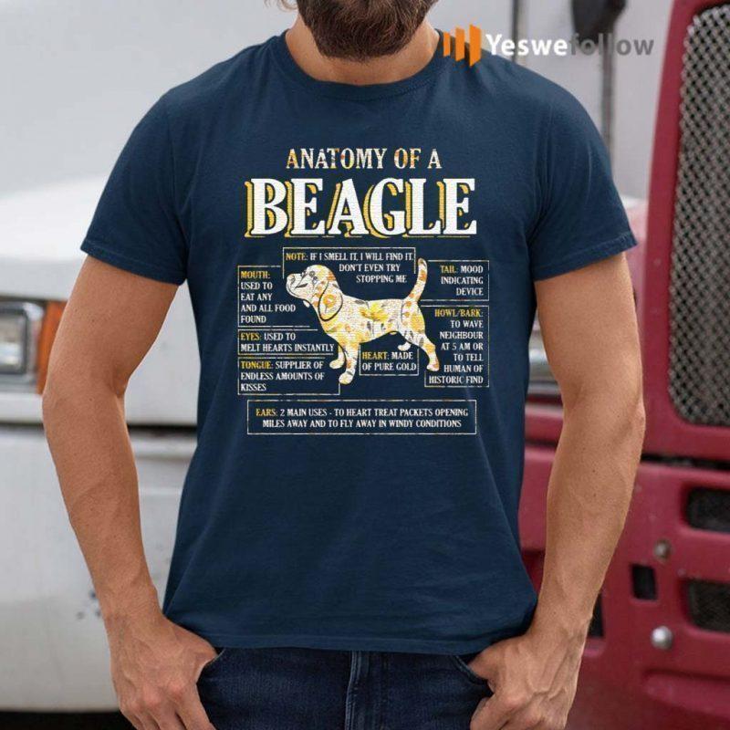 Anatomy-Of-A-Beagle-T-Shirts